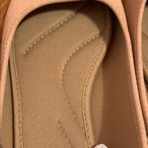 SO Shoes - Nude Pink Pointed Flats, Womens Size 10